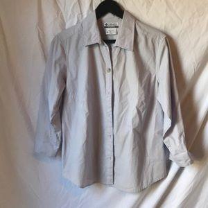 Columbia button down shirt- size L